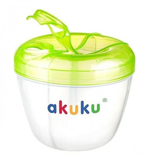 Dávkovač sušeného mlieka v prášku AKUKU - zelený