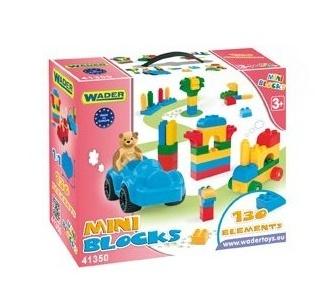 Kocky mini blocks  Wader - 130 kusov