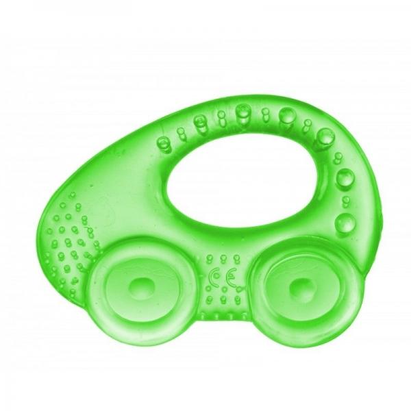 Hryzátko vodné, chladiaci Canpol Babies - Autíčko - zelené