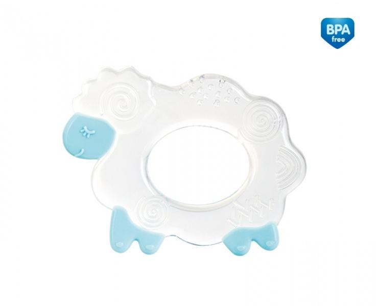 Hryzátko silikonové Canpol Babies - Ovce - modré