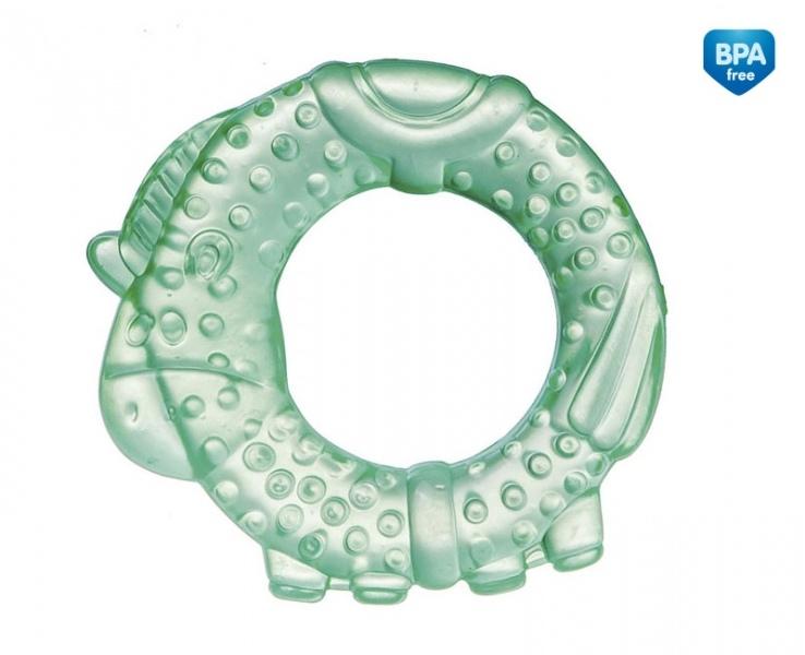 Hryzátko vodné, chladiaci Canpol Babies - Koníček - zelený