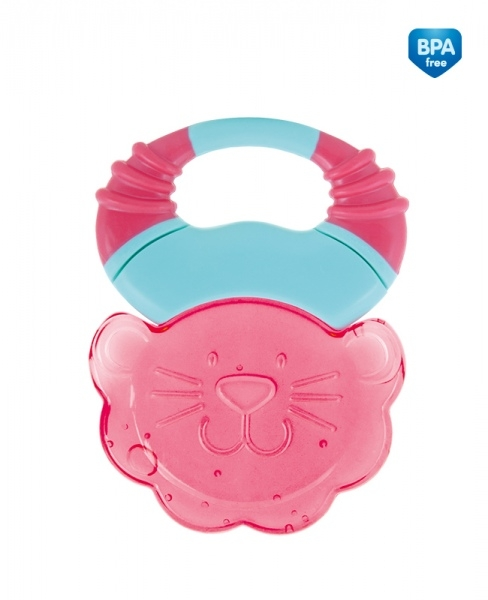 Hryzátko gelové Canpol Babies Safari - lev ružový