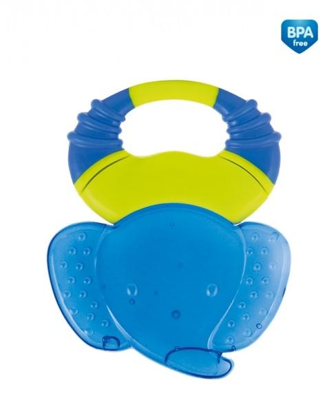 Hryzátko gelové Canpol Babies Safari - slon tm. modrý