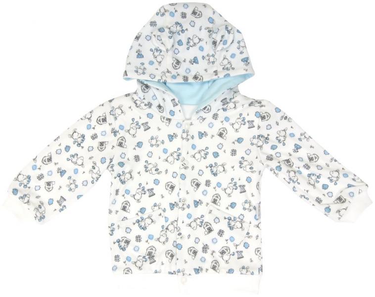 Mikina s kapucňou MAMATTI Oslík-#Velikost koj. oblečení;92 (18-24m)