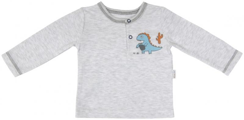 Bavlnené tričko / polo Mamatti DINO, veľ. 74