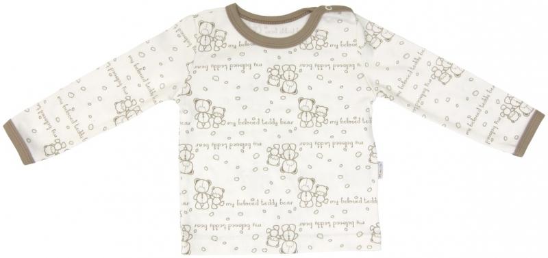 Bavlnené pyžamko Mamatti Baby Bear TEDDY, veľ. 80