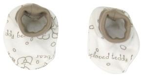 Bavlnené topánočky/ponožtičky Mamatti Baby Bear TEDDY
