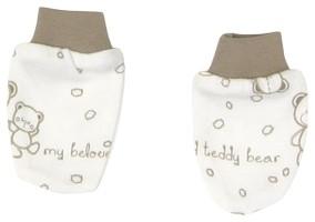 Dojčenské rukavičky Mamatti Baby Bear TEDDY