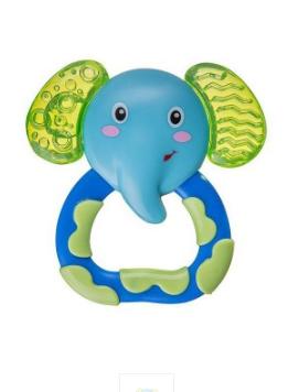 Hrkálka s  hryzátkom AKUKU - Slon