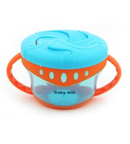 Miska na desiatu Baby Mix - modrá