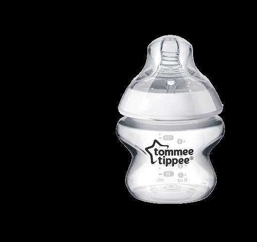 Sklenená fľaša Tommee  Tippee 150 ml - 0m+