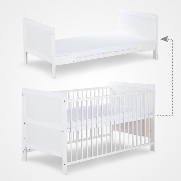 KLUPS Detská postieľka, 140x70 cm