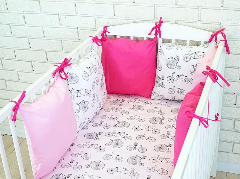 Baby Nellys Mantinel BE LOVE RETRO vankúšikový s obliečkami vzor č. 10