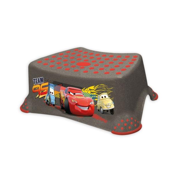 Keeeper Stolička s protišmykovou funkciou -Cars- grafit