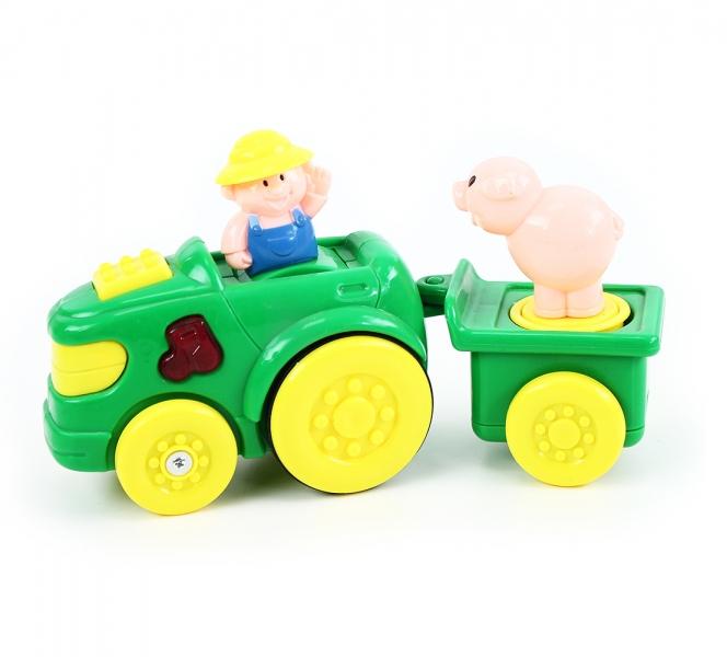 Rappa Traktor s vlečkou so zvukom a svetlom