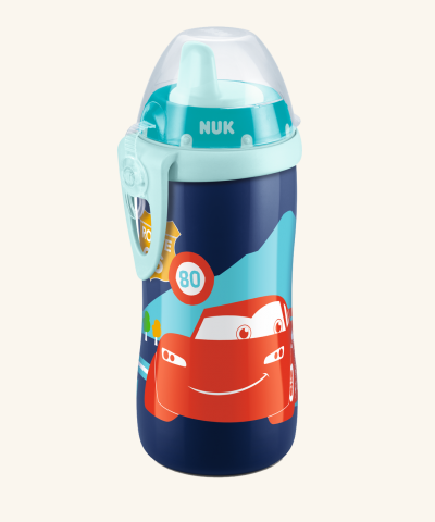 Fľaštička NUK KIDDY CUP 300 ml - Disney Cars
