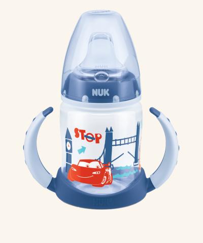 Hrnček NUK First Choice Disney Cars - modrý - 150 ml