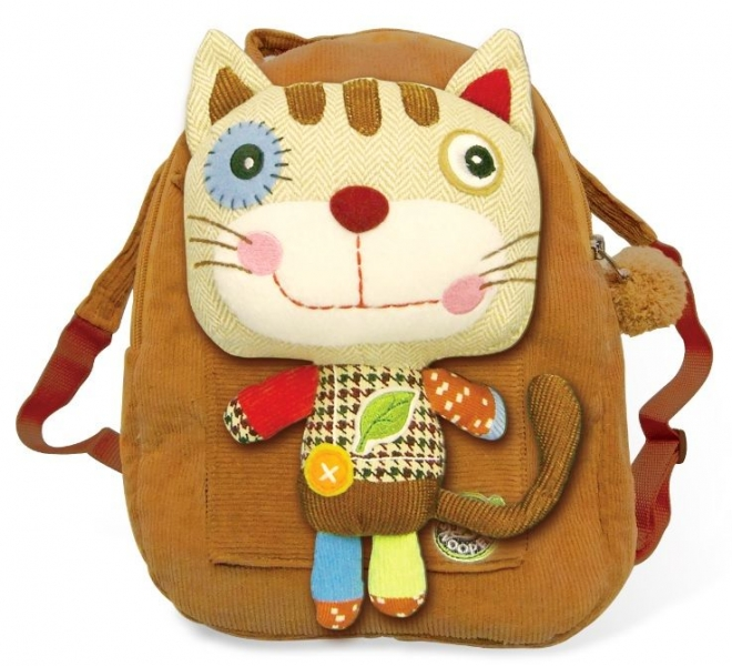 Detský batôžtek,  batoh, Mačka hnědá