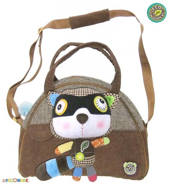 Štýlová detská taška Mýval - hnedý