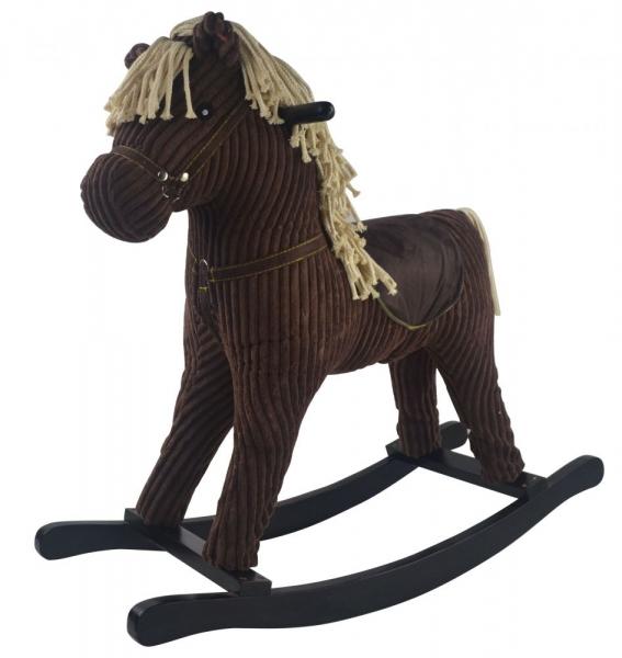Hojdací koník Brownie LOVE - hnědý
