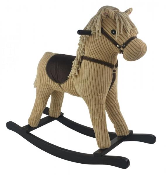 GrandS Hojdací koník INKA LOVE LOVE - béžový