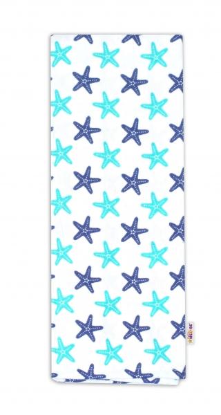 Flanelová plienka - Hviezdice modro/zelené