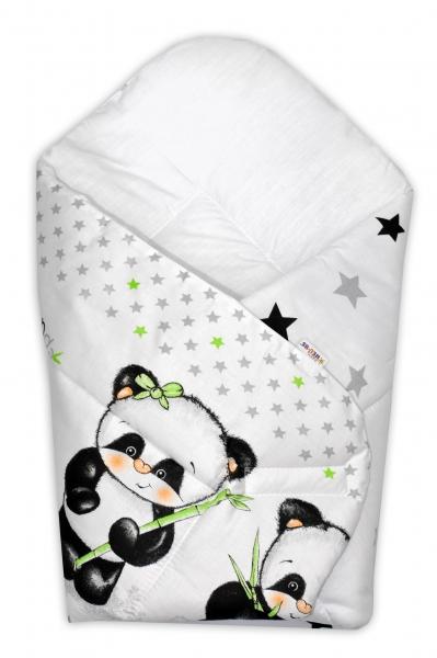 Novorodenecká zavinovačka Panda Baby Nellys