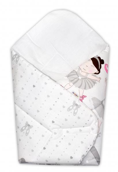 Novorodenecká zavinovačka Princess Baby Nellys - růžová