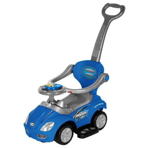 Odrážadlo, odrážadlo 3v1 AUTO - modré