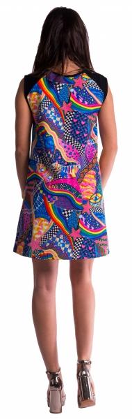 Farebné tehotenské šaty