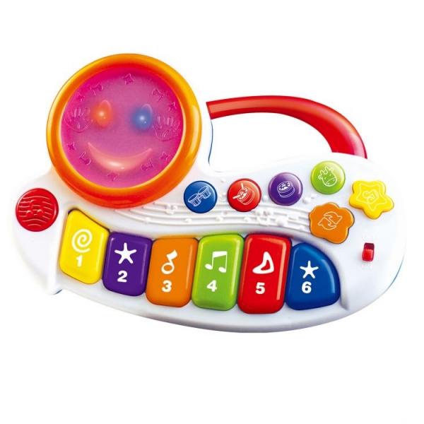 TOT KIDS Interaktívna hračka s melódiu Veselé piano