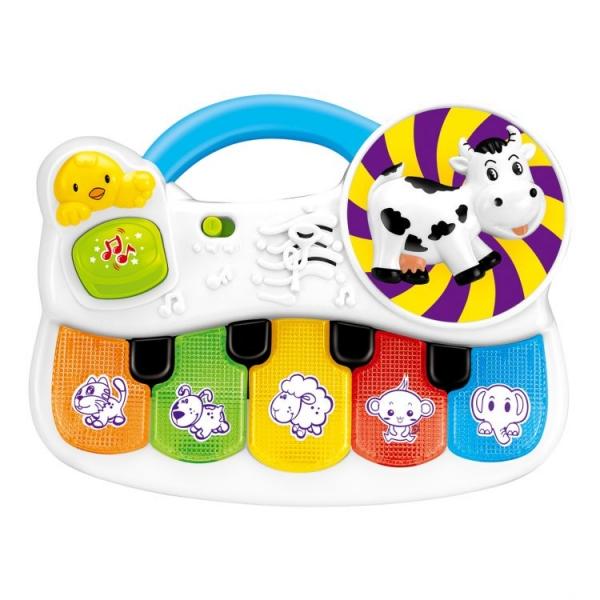 TOT KIDS Interaktívna hračka s melódiu Hrajúca zvieratka
