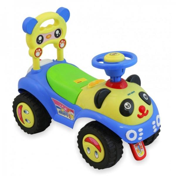 Detské Jezdítko Baby Mix Panda - modré