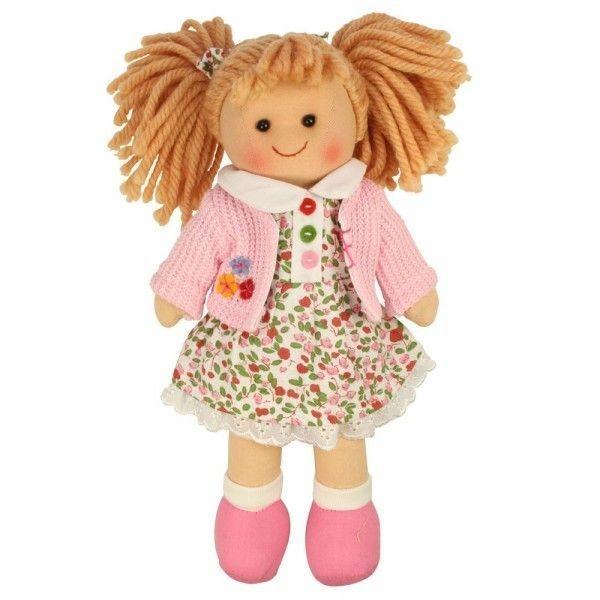 Látková bábika PAULINA, 27cm