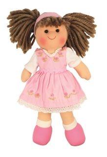 Látková bábika EVELÍNA, 27cm