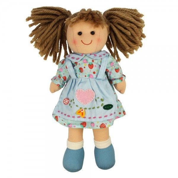 Bigjigs Látková bábika MARKÉTA, 27cm