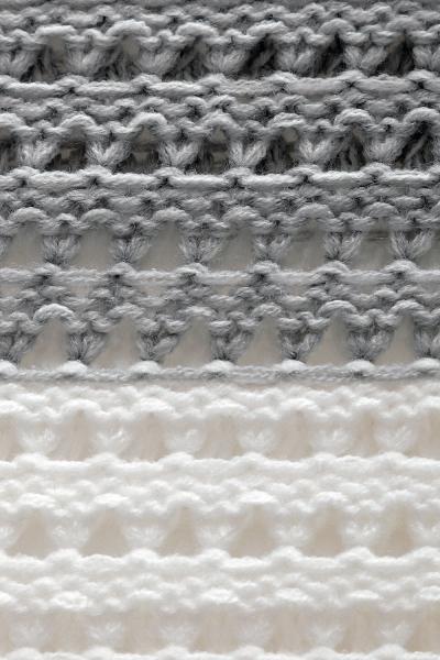 Tehotenský pulóver ažúrový DUET melírovaný - sv. šedý