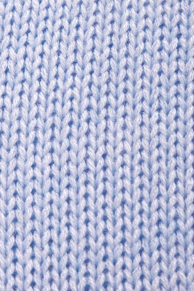 Pletený zavinovaci svetrik MAMI melírovaný - svetlo modrý