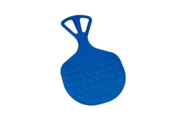 Teddies Kluzák Lopata Mrazík plast 58x35cm modrý