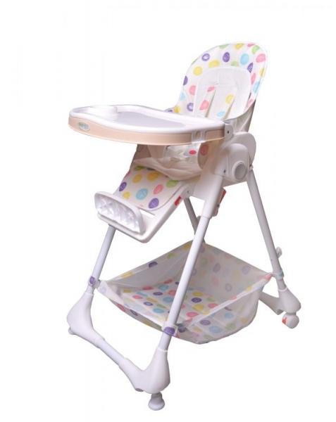 Jedálenský stolček ECO TOYS - biely