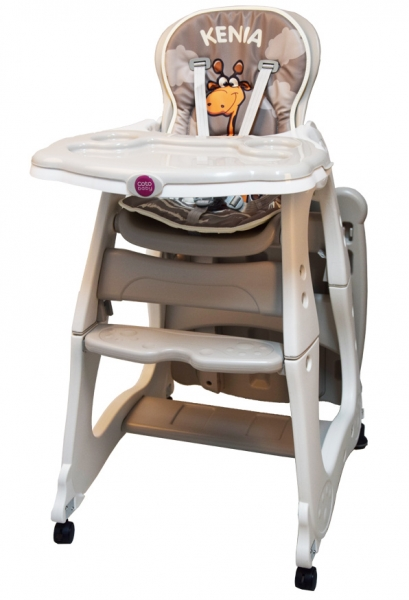 Coto Baby Jedálenská židlička Kenia - béžová