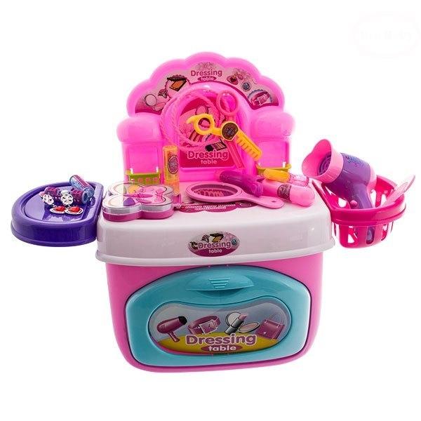 Euro Baby MINI toaletný stolík - ružový