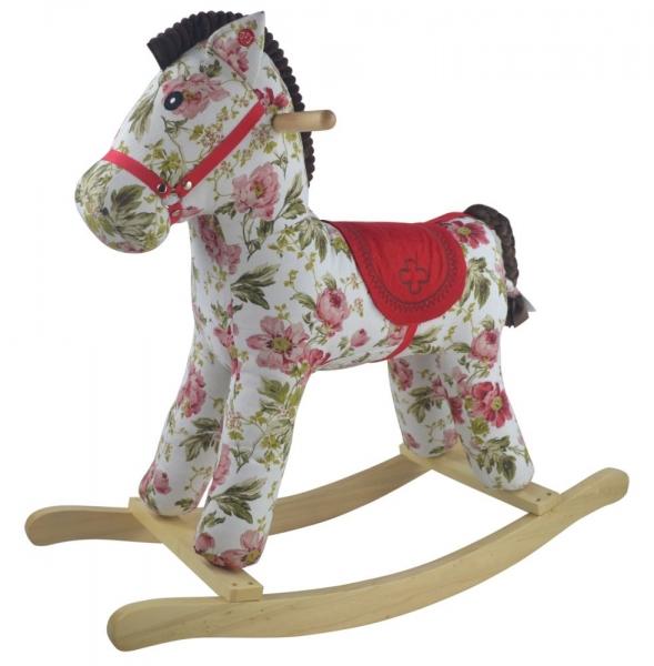 GrandS Hojdací koník PINKY FLORA