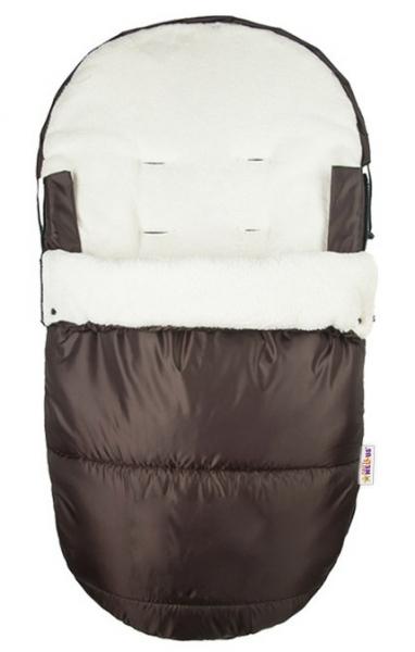 Fusak Delux Baby Nellys ®105x50cm - hnedý