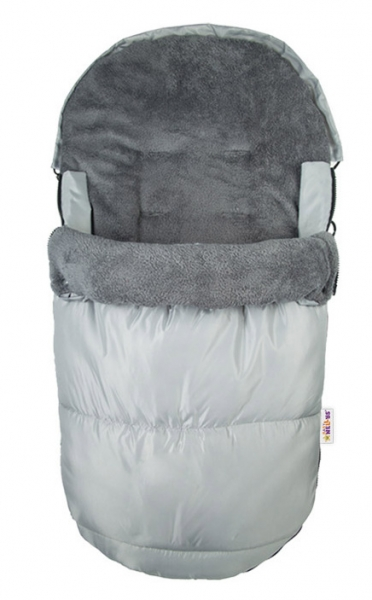 Fusak Delux Baby Nellys ®105x50cm - sivý