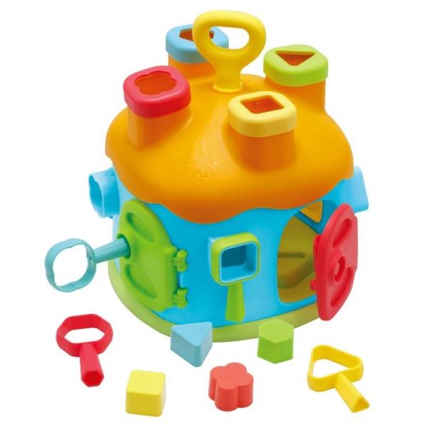Eco toys Edukačná hračka interaktívný domček - vkladačka