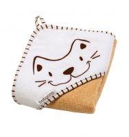 Luxusná froté osuška s kapucňou Baby Ono - Mačka