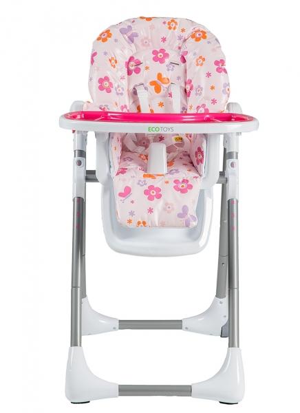 Jedálenský stolček - růžový