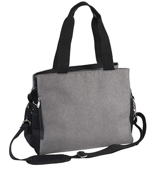 BabyOno Prebaľovacia taška ku kočíku SO ACTIVE! - šedo/čierna