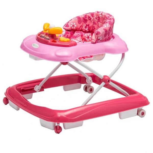 Detské chodítko ECO TOYS - ružové